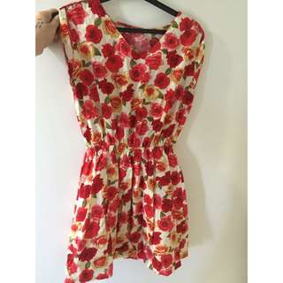 Rose Summer Dress