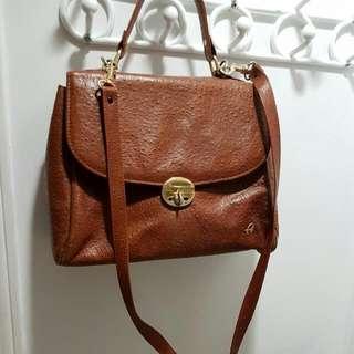 Real Leather Vintage Hand Bag