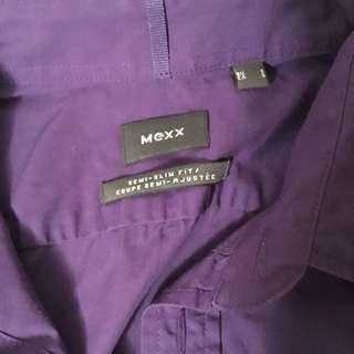 MEXX Semi-slim Fit Polo Dress Shirt