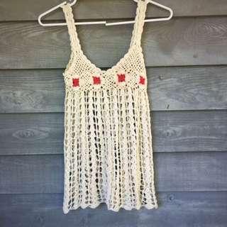 Crochet Beach Throw Or Top