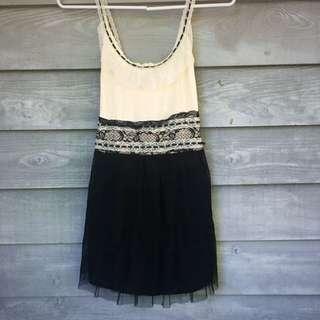 Funky Valley Girl Dress BNWT XS