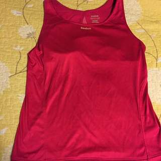 Reebok Pink Gym Top small