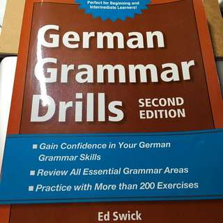 German Grammar Drills Second Edition