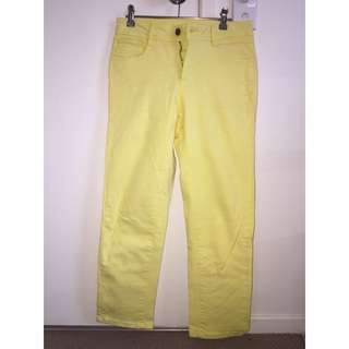 Yellow 3/4 Jeans