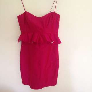 Razak Party Peplum Mini Dress