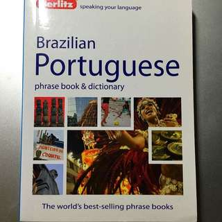 Brazilian Portuguese Phrase Book & Dictionary