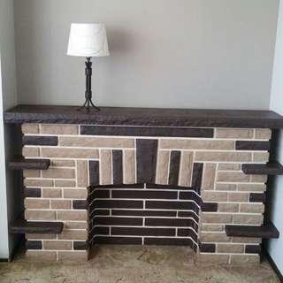 Showroom Fireplace