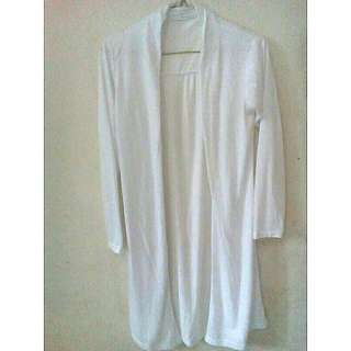 Tje White Long Outer