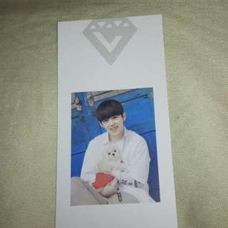 Seventeen Scoups Love&letter Bookmark