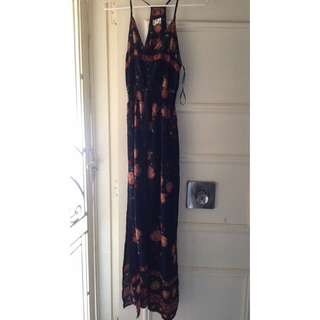 Mink Maxi Dress Size 10
