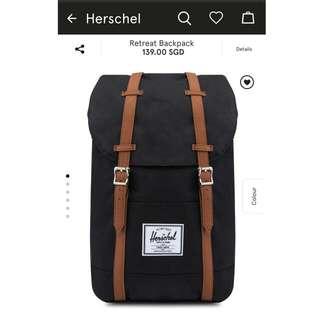 Authentic Herschel  Retreat Bag From Zalora