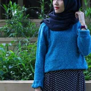 Blue Morry Sweater Sallycinnamons