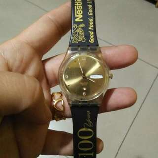 Swatch Nestle 100yrs Edition Watch