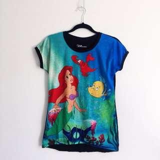 Disney Ariel The Little Mermaid Tshirt
