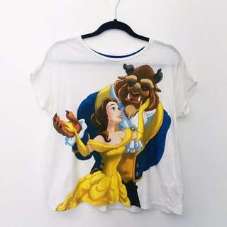 Belle Beauty and the Beast Disney Tshirt