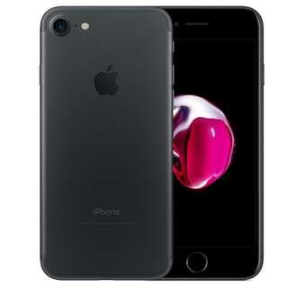 Apple iPhone 7 Matte Black 128GB Singtel Set