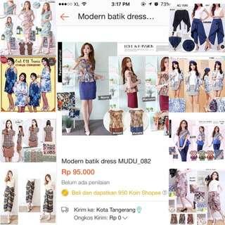 Batik Murah | Dress Batik | Batik Moderen | Batik Wanita | Batik Murah | Sabrina Top / Sabrina Dress| Batik Kerja | Atasan Batik | Supplier Baju | Supplier Batik | Batik Moderen | Batik Dress | Batik Jombo |batik Modern