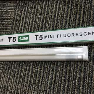 T5 2ft Mini Fluorescent Light, 14W, 2700K/4000K(sold)/6500K(sold)