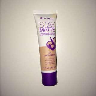 Rimmel Stay Matte Foundation 30ml - 201 Classic Beige