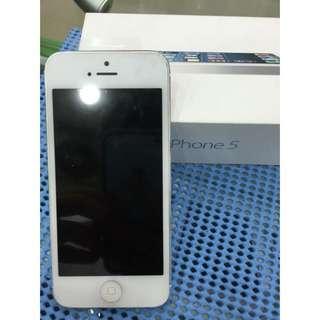 Iphone 5 16G 銀色