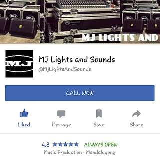 SOUNDS AND LIGHTS