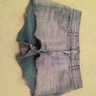 Valleygirl Purple Shorts