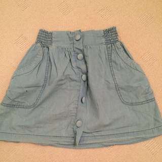 Cotton On Blue Skirt