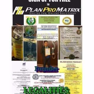 PlanProMatrix Home Base Job & Business