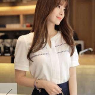 韓版 圖騰小樣式上衣