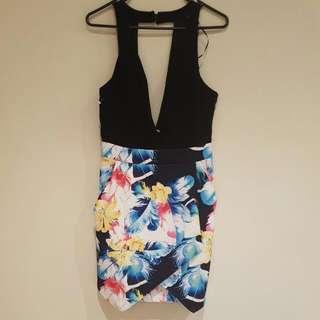 Floral Dress - Size 10