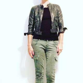 Anthropologie Polyester Jacket Sz XS