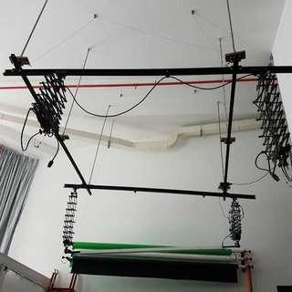 Studio Ceiling Rail Track System 3meters Long
