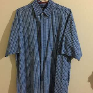 Ralph Lauren Shortsleeve Button Up SIZE M