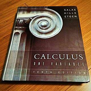 Calculus: One Variable 10th Edition