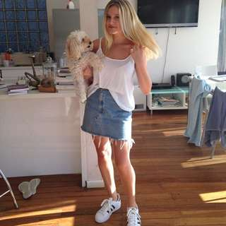 Adidas Shoes And White Top