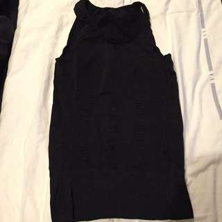 Brand New Black Compression Singlet