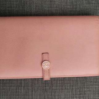 Authentic Chanel Calfskin Wallet