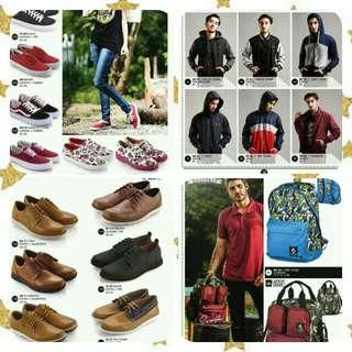 Shoes, Shirts, Bags Etc.