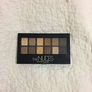 """Maybelline """"The Nudes"""" Eyeshadow Palette"""