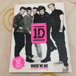 One Direction Official Where We Are Book