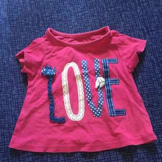 Cute Terno for Baby Girl 3M