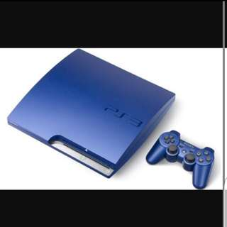 PS3 With Two Controllers And Two Games Fifa And God Of War 320GB
