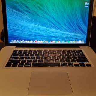 Macbook Pro (mid 2012) 15inch 500GB i7
