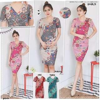 Modern Dress / Dress Batik / Batik Murah / Batik Berkualitas / Batik Wanita / Atasan Batik / Dress Murah / Batik Kerja / Baju Murah