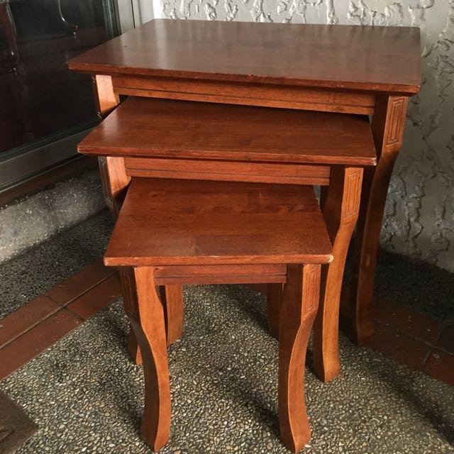 3 Pc Corner Table Set