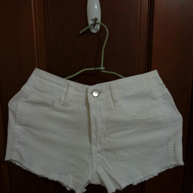 郵寄含運💥全新白色高腰短褲