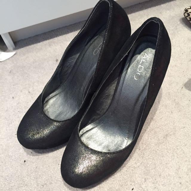 Aldo Glittered Heels