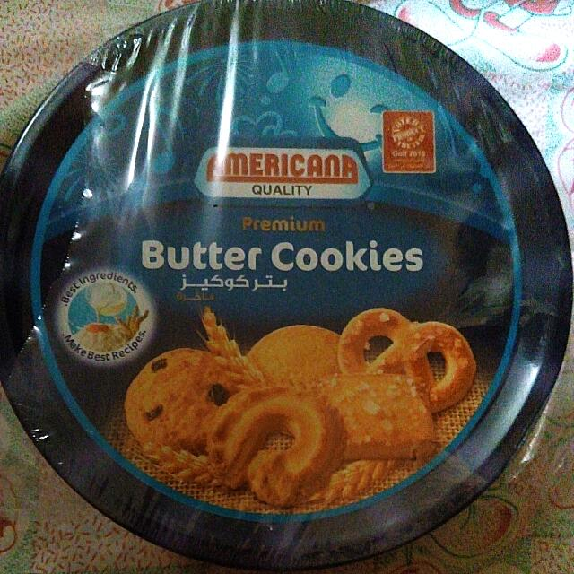 Americana Butter Cookies