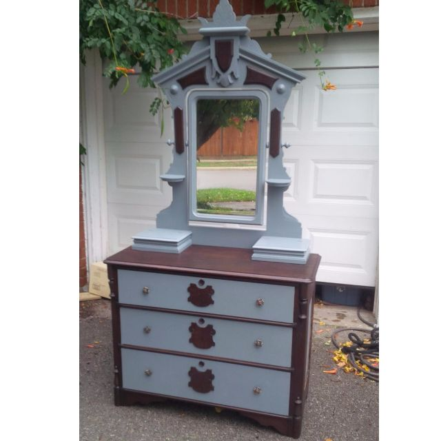 Antique Dresser with Mirror REDUCED PRICE