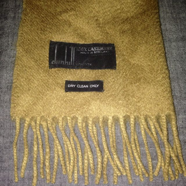 Auth Dunhill London 100% Cashmere Scarf